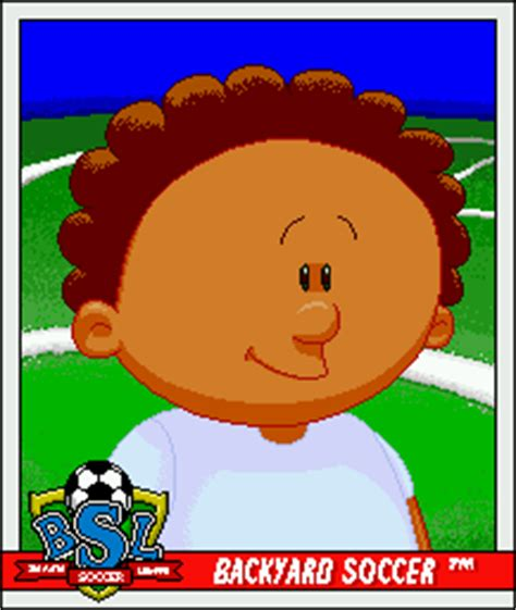 Backyard Soccer Characters by Mikey Humongous Entertainment Wiki