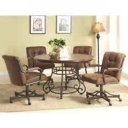 dining room sets with chairs on casters inspirational swivel dining room chairs new