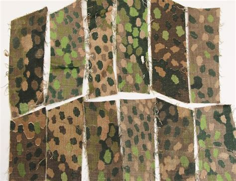 camouflage pattern history ss erbsenmuster variants 3rd reich 1944 camo patterns