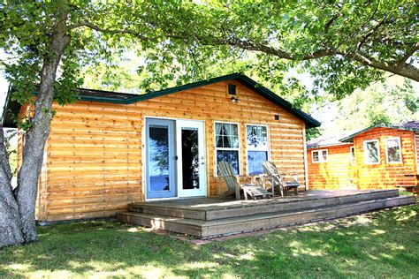 Leech Lake Cabins by Cabin 6 Big Rock Resort Leech Lake Minnesota