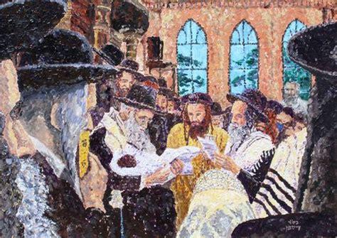 acrylic  canvas original painting berit circumcision