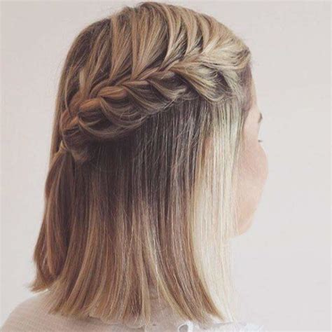 trenzas en pelo corto peinados para cabello corto 2017 2018 tendencias de