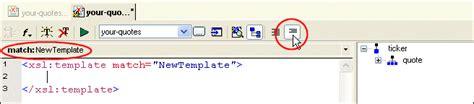 xslt pattern replace xslt stylesheet editor quick tour