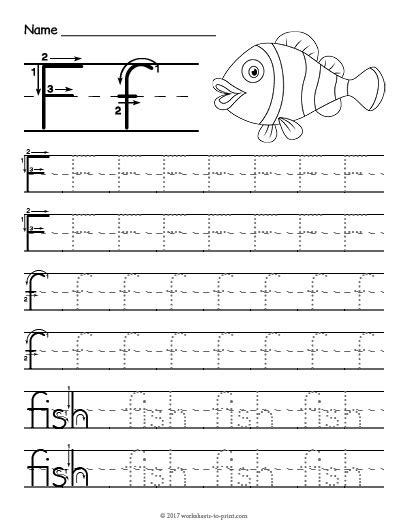 printable worksheets letter f tracing letter f worksheet
