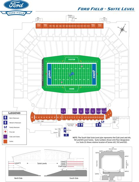 ford field directions directions and parking info ford field upcomingcarshq