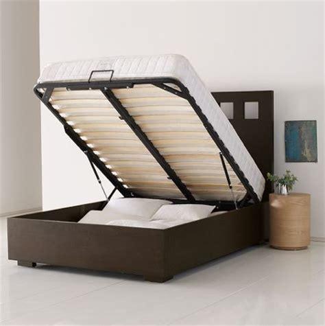 bed with hidden storage hidden storage bed furniture stashvault