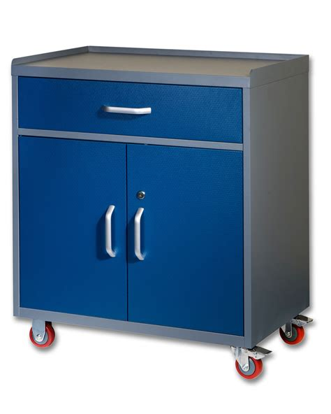 garage cabinets on wheels metal storage cabinet on wheels with doors and shelves