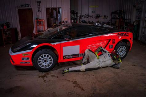 lamborghini rally car my boyfriend his race team are almost finished building