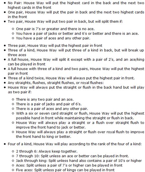 printable poker instructions for beginners pin house rules template on pinterest
