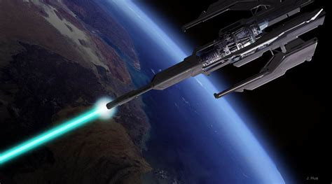 real science fiction weapons design space weapons systems