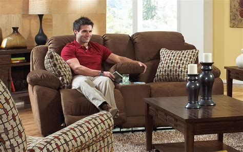 bryson power reclining sofa catnapper bryson power reclining console loveseat with