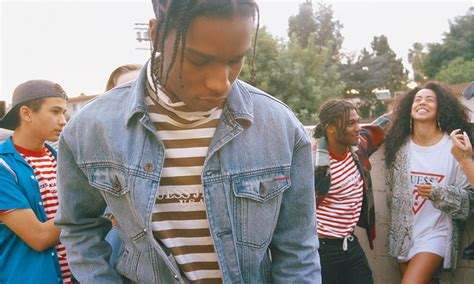 Guess X A Ap Rocky a ap rocky x guess collection highsnobiety