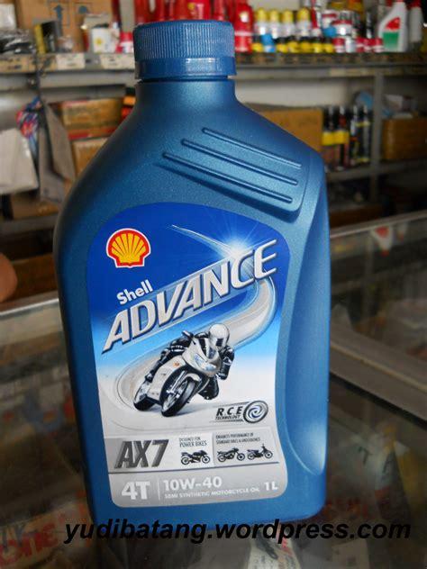 Oli Ax7 Akhirnya Dapat Juga Oli Shell Advance Ax7 Yudibatang