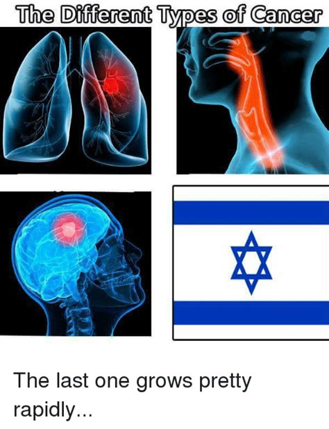 Different Kinds Of Memes - the different types of cancer the last one grows pretty rapidly cancer meme on sizzle