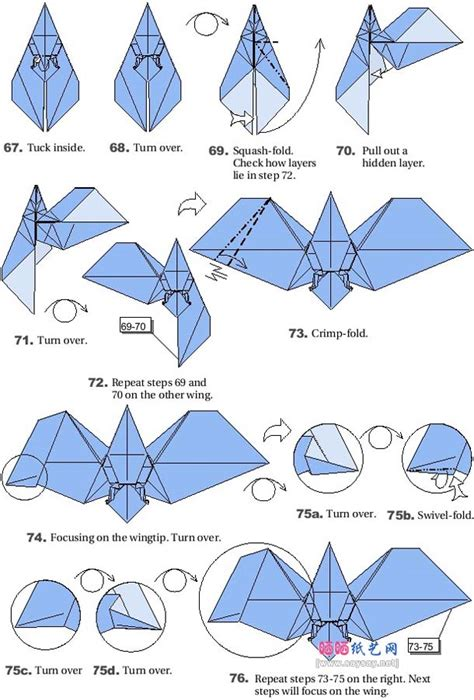 How To Make A Origami Bat - origami bats 7 bat origami bats and