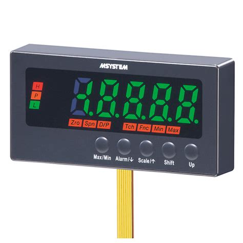 Panel M System M System 47nlv Series Digital Panel Meter 4 20 Ma Input