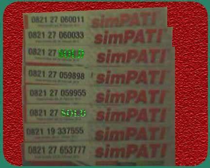 0821 60 11 15 15 Nomor Cantik Simpati 0821 60111515 Kartu Perdana jual nomor cantik bandung murah pisan nomer cantik