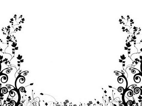 wallpaper border black and white flowers black and white floral pattern wallpaper cliparts co