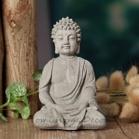 home decoration statues 4 33 quot handmade buddha statue resin home decoration feng