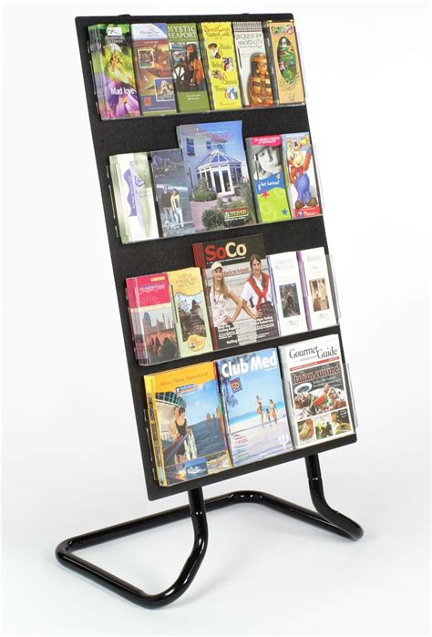 flyer stands literature displays for magazines and phlets