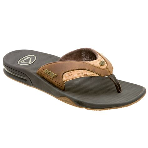 reef fanning sandals on sale reef sandals 28 images reef leather fanning sandals