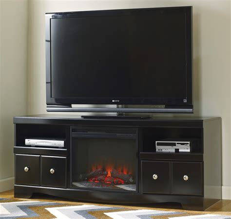 lg tv rack shay lg tv stand with fireplace insert from ashley w271