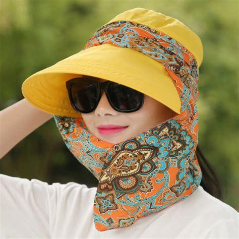 Topi Anak Cantika Renda Bonela jual wanita musim semi korea fashion style topi matahari topi ritsleting renda kuning