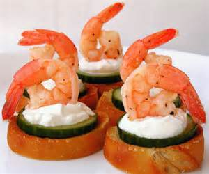 marinated shrimp canapes recipe food