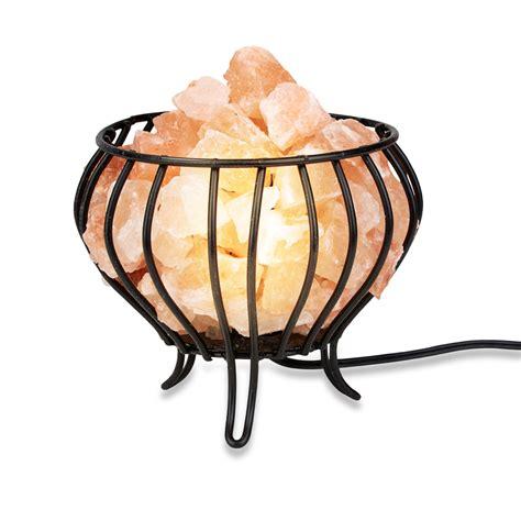 himalayan natural salt basket l himalayan salt wrought iron salt basket l bowl shape