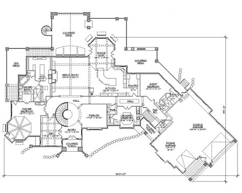 house plans with bowling alley 6000 sq ft house plans
