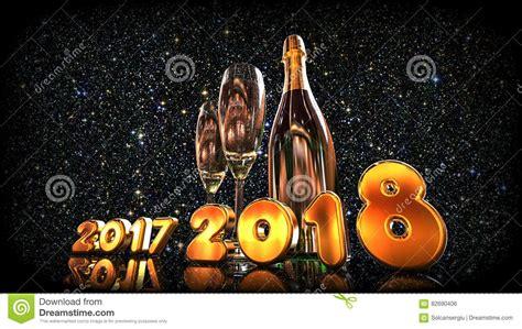 imagenes en movimiento año nuevo 2018 feliz a 241 o nuevo 2018 stock de ilustraci 243 n imagen de enero