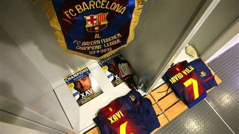 Fc Barcelona Room by Fc Barcelona Dressing Room Uefa Chions League Nav