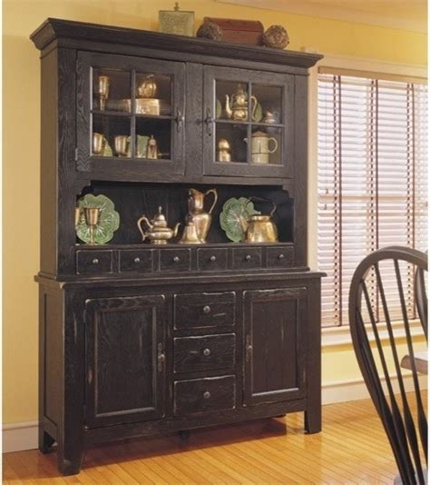 broyhill attic heirlooms china door hutch and base in