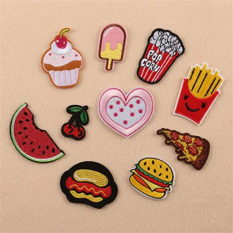 embroidered iron sew on patches badge bag clothes fabric craft diy applique ebay