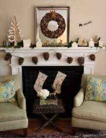 how to decorate a fireplace for christmas how to decorate a fireplace mantel christmas pine cone