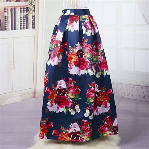 9 Gorgeous Maxi Skirts by Aliexpress Buy Floral Maxi Skirt Beautiful