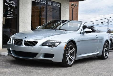 2010 Bmw M6 For Sale by 2010 Bmw M6 Convertible For Sale In Conshohocken Pa Truecar