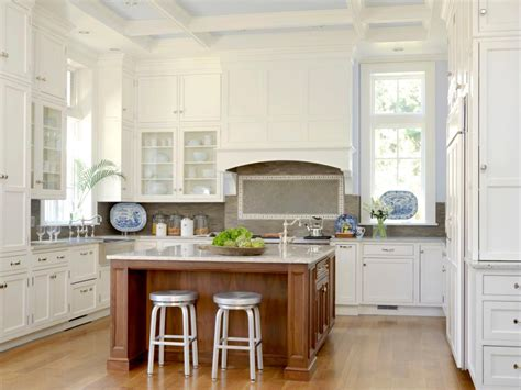 Cleaning White Kitchen Cabinets White Kitchen Ideas For A Clean Design Hgtv