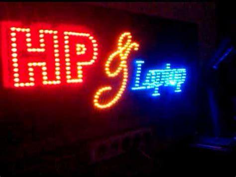 Papanled Sign Apotik papan nama animasi led led sign