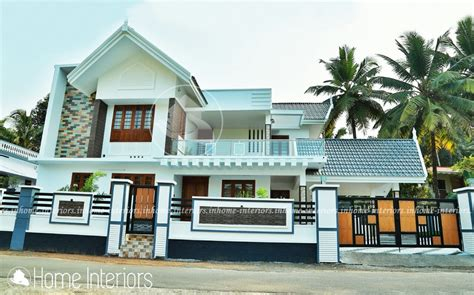 kerala home design 3000 sq ft 3000 square feet double floor contemporary home design
