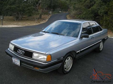 old car owners manuals 1986 audi 5000s instrument cluster service manual 1986 audi 5000 cs turbo 1986 audi 5000 cs turbo quattro german cars for sale blog