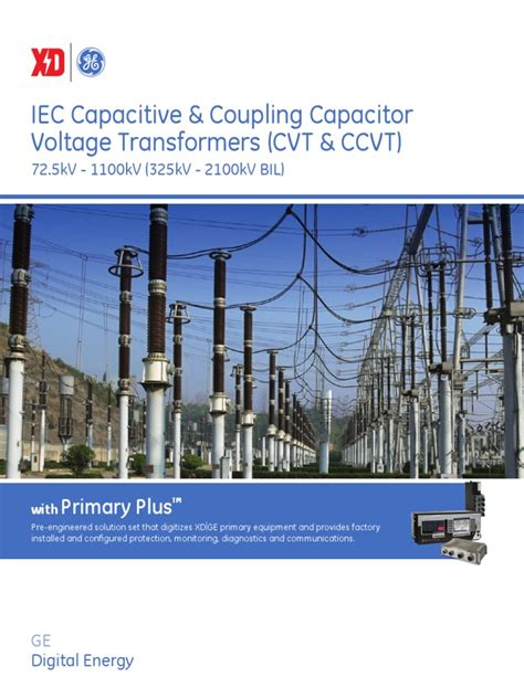 capacitor coupling voltage transformer ge capacitor voltage transformer pdf capacitor electrical substation