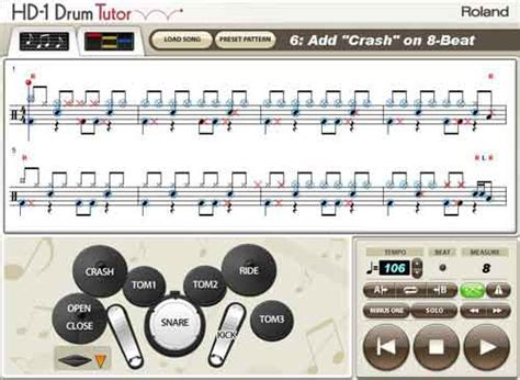 drum tutorial easy roland presents drum tutorial software for hd 1 v drums