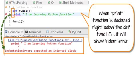 tutorial python functions python functions tutorial define call indentation
