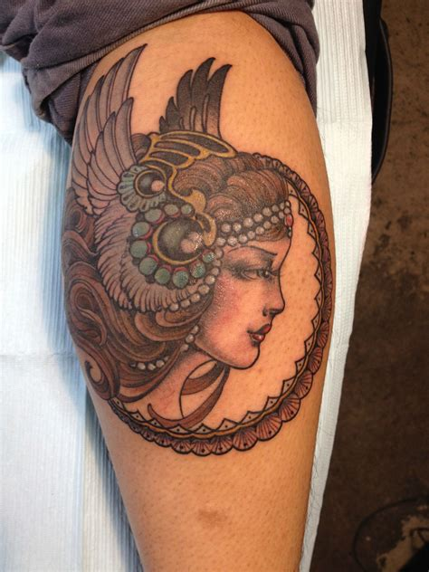valkyrie tattoo valkyrie done by lara at east side ink in nyc ny