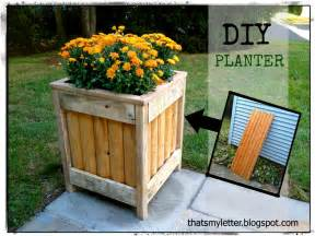 Diy Planters by White Outdoor Planter Diy Projects
