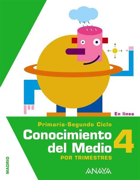 conocimiento medio 6 primaria timonel comprar libro 4pri conocimiento medio 4 primaria
