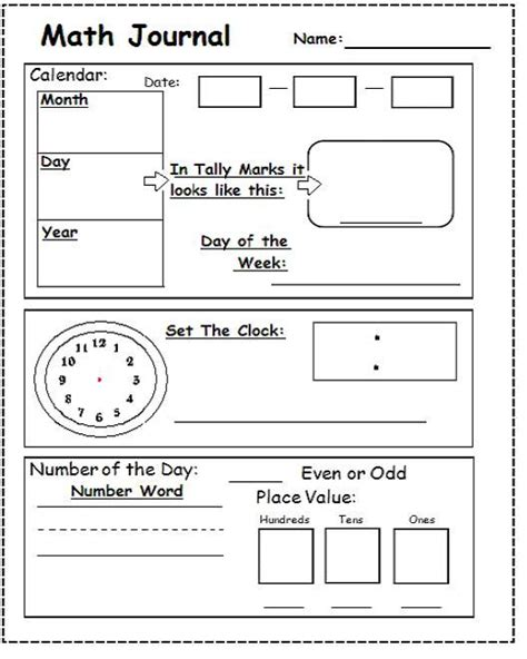 math journal coloring page calendar board calendar journal and other on pinterest