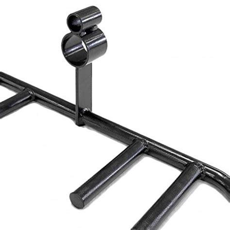 landmine platform and multi grip t bar row attachment in