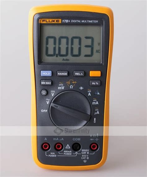 Fluke 17b Multimeter Digital fluke 17b auto range digital probe multimeter meter temperature frequency